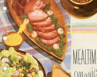 1950s Mealtime Magic Cookbook