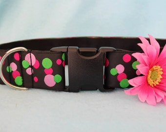 Pink Daisy Collar Accessory