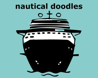Nautical Doodles Font
