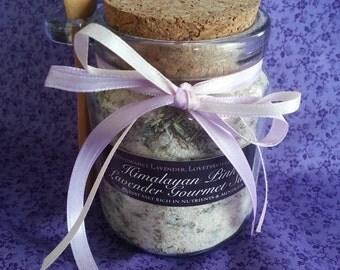 Himalayan Pink Lavender Gourmet Cooking Salt