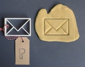 Envelope cookie cutter, 3D printed