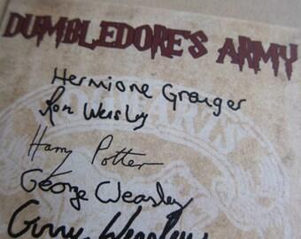 Harry Potter - Dumbledore's Army Postcard