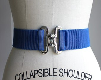 "True Blue Elastic Belt 31"" long"