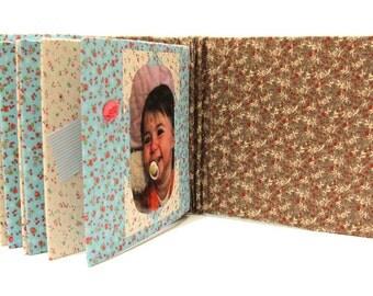 Baby Photo Book- Baby Brag Book - Fabric Photo Album