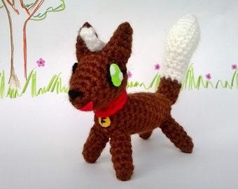 Brownie the Fox Amigurumi Pattern