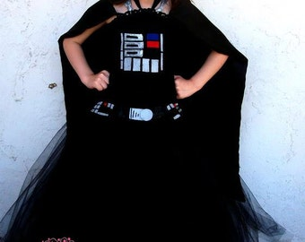 Darth vader inspired tutu dress costume