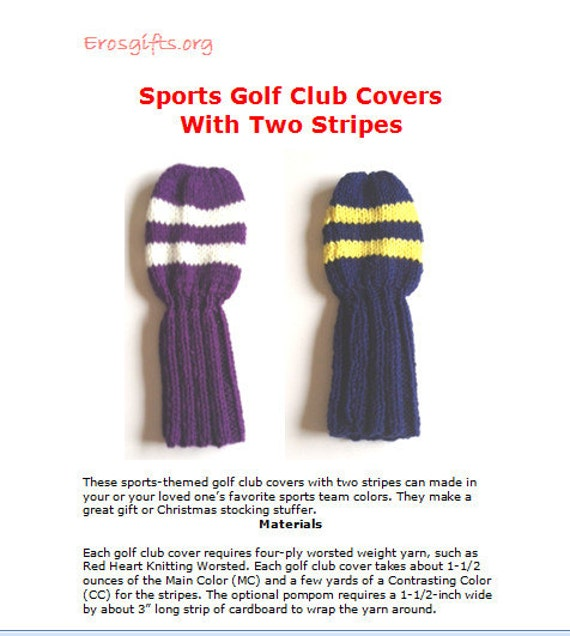 Free Knitting Patterns Sports Golf Apps Directories