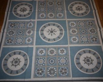 Almedahl - Sweden - Linen - Tablecloth - Retro -