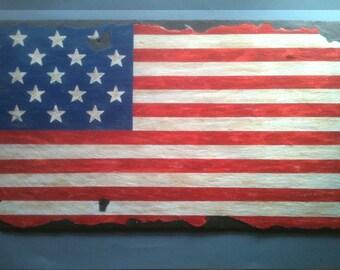 Monumental Star Spangled Banner;  War of 1812 Flag; Historic American Flags; Fifteen Star American Flag