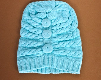 Aqua Bella Cashmere Hat
