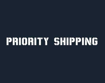 Priority Shipping charge