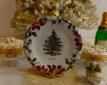 Christmas Tree Annual 2014 Dollhouse Plate