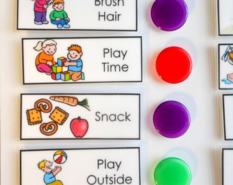 Chore Chart for Kids, Daily Checklist, To Do List, you choose the Chores