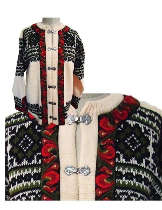 Items Similar To Vintage Ski Sweater Nordstrikk Norway