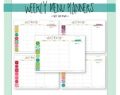 Weekly Menu Planner with ...