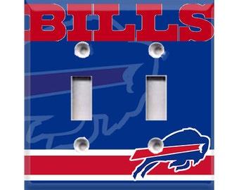 Buffalo Bills Double Light Switch Cover