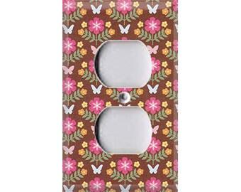 Garden - Butterflies Outlet Cover