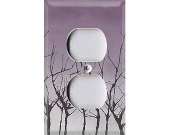 Halloween Haunted Forest Outlet Cover