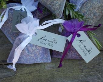 Lavender Sachet, organic lavender, lavender buds, dried lavender, dried herbs, blue lavender, herb garden