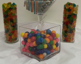 CandyLand Candy Buffet Serves 25 to 35 Guests Rainbow Candy Table