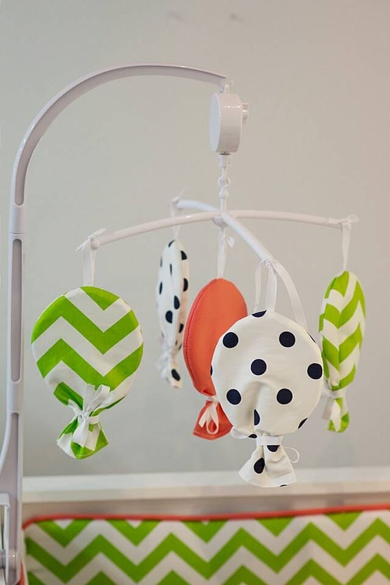 Baby musical mobile design your own balloon by - Design babymobel ...