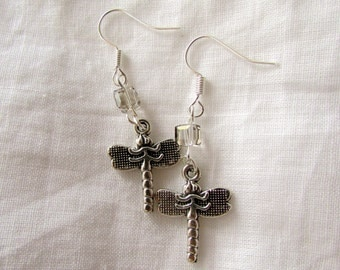 Swarovski Dragonfly Earrings (E37)