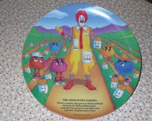 Vintage McDonalds Plates ~ 2 Different Years