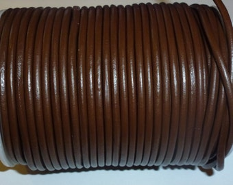 D-02603 - 1m. Genuine Leathercord 3mm