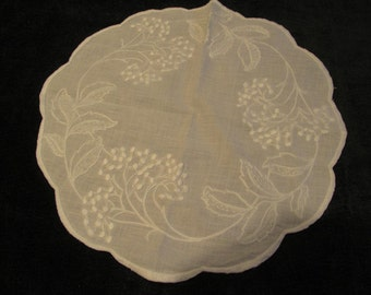 antique doily, hand worked