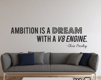 Elvis Quote Wall Sticker