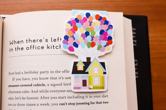 House & Balloons Magnetic Bookmark