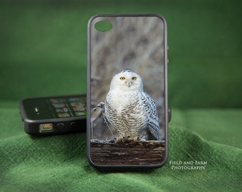 Snowy Owl   iPhone 6 Plus, 6/6s,  5/5s, 4/4s, Samsung Galaxy S3,S4,S5 Case