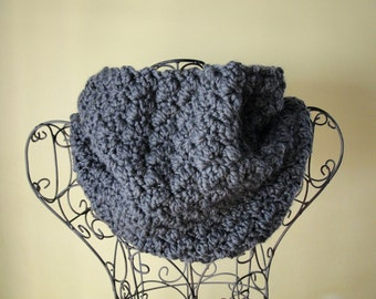 CROCHET PATTERN Chunky COWL Scarf The Laura
