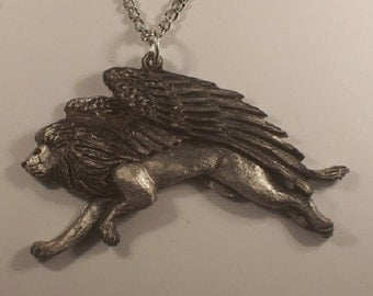 New  Design.....Majestic Winged  guardian....Pendent........{ My B.Day  SALE  buy 1 get 1 free   5- 21  tell  5- 31 }