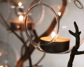 Glass Tea Light Holders     Simply Beautiful