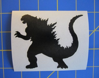Godzilla Decal/Sticker 3X3