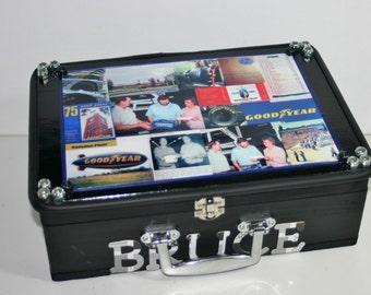 Memory Box, Retirement, In Loving Memory, Police Officer, Fireman Keepsake Memory Box