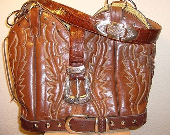 Cowboy Boot Purse DB49