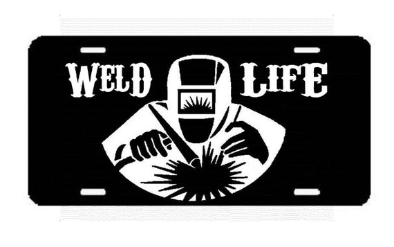 Items similar to B1019 Weld Life License Plate for Car ...