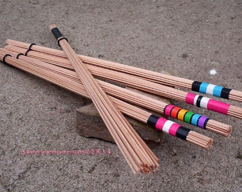 BDSM Cane Bundle ~ Caning Spanking WarmUp Leather Pride ~ Choice of Handle Color