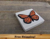 Wood Puzzle Butterfly! Monarch Wooden Puzzle, Montessori Learning