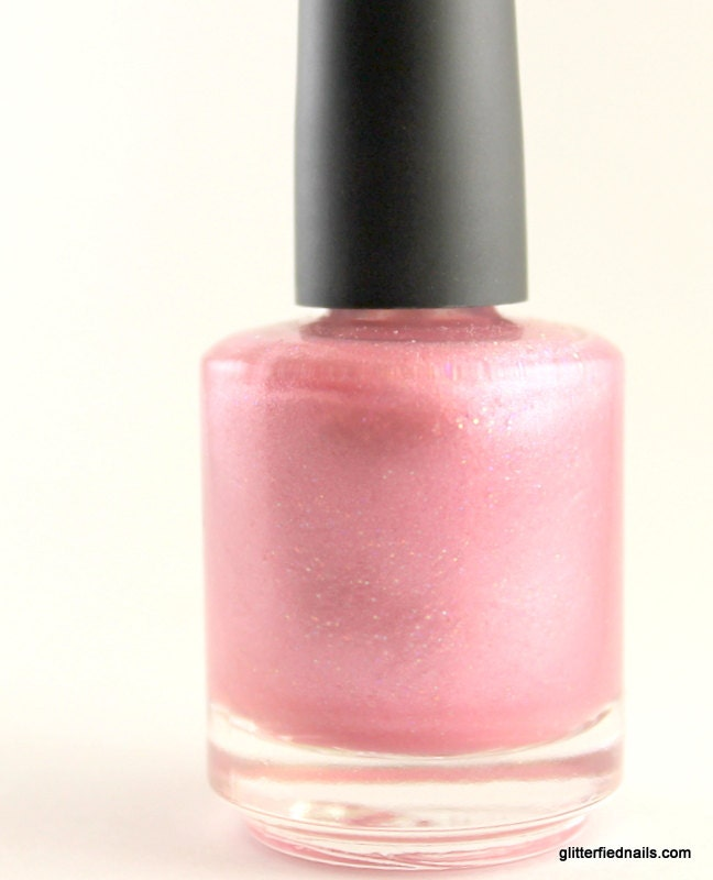 Cotton Candy Satin Fingernail Polish: Shop Demo
