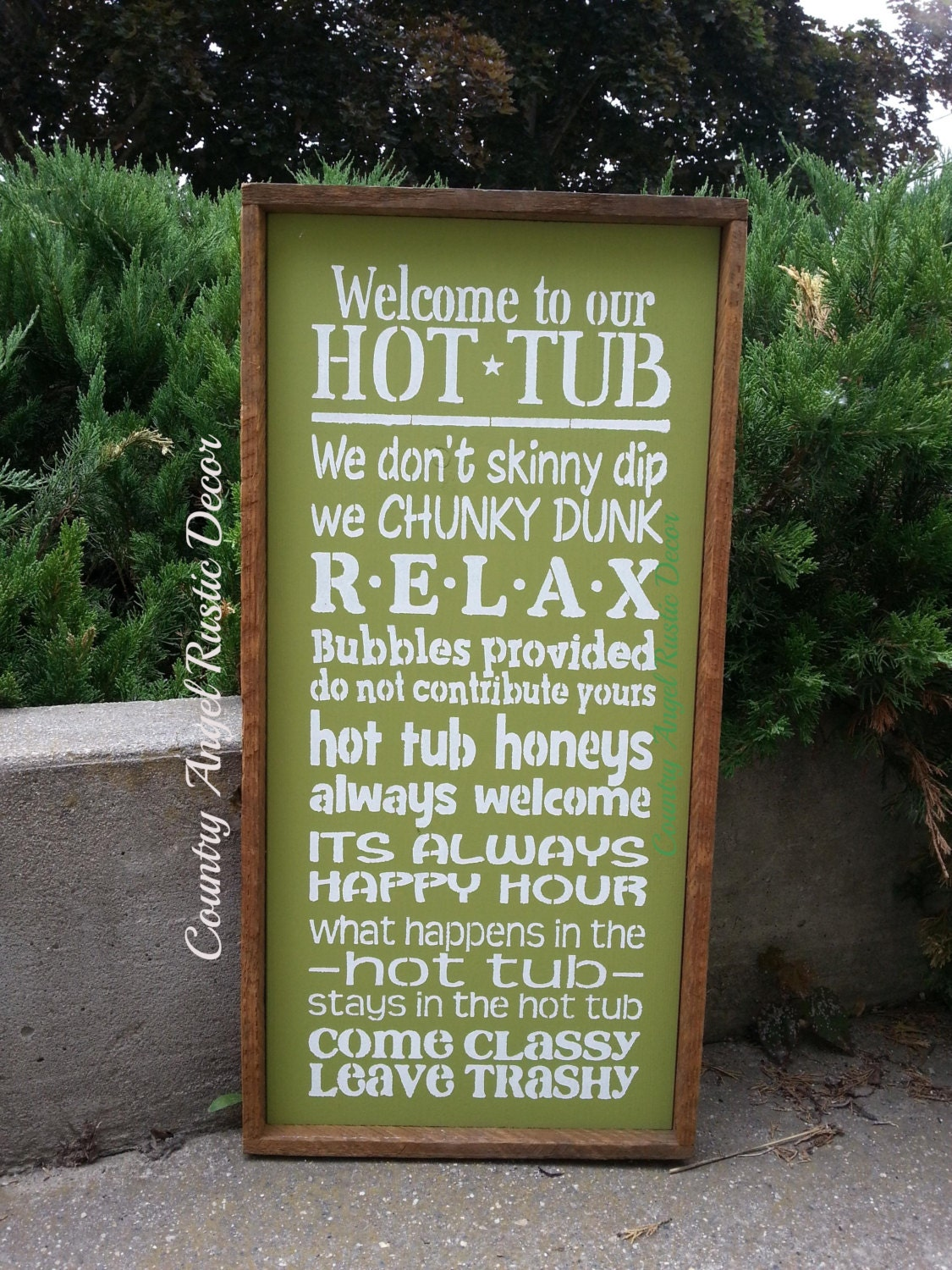 Hot Tub Signs uk Hot Tub Sign Outdoor Sign