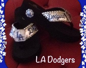 ... la dodgers shoes etsy