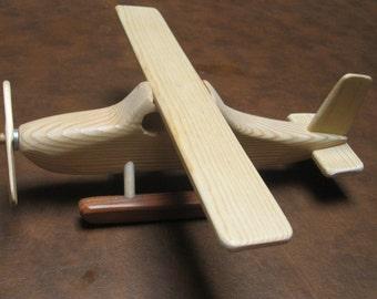 Handmade Wooden Toy Sea Plane
