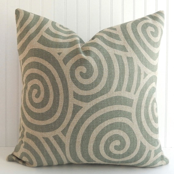 Throw Pillows For Sage Green Couch : Upholstery Pillow Cover Sage Green Pillow Throw Pillow