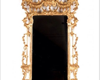 Chinese Chippendale Pagoda Mirror
