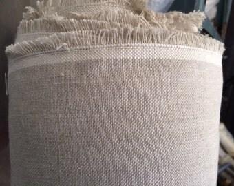Linen Vintage Natural Fabric 100% Linen