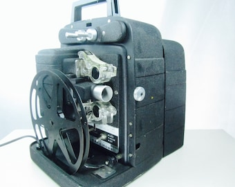 MOVIE PROJECTOR,bell & Howell, 8 mm Projector, vintage movie projector, Model 256 AS