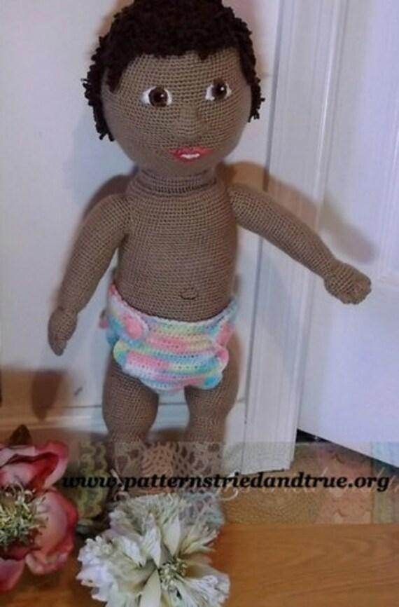 Are Amigurumi Safe For Babies : African Baby Doll Crochet Pattern, Child Safe, Amigurumi ...